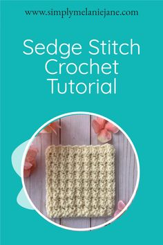If you love to learn new stitches, Sedge Stitch is a wonderful one to add to your repertoire. Full of texture and easy to do. Make dishcloths, towels, and more with this stitch. Easy Crochet Patterns, Crochet Patterns Amigurumi, Crochet Stitches, Freeform Crochet, Crochet Doilies, Crochet Gifts, Free Crochet, Crochet Home Decor, Needlecrafts