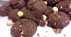 Μπισκότα με χαρουπάλευρο και φουντούκια