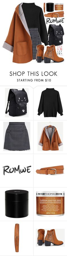 """293 ROMWE"" by erohina-d ❤ liked on Polyvore featuring Isabel Marant, Frédéric Malle, Peter Thomas Roth and Rimmel"