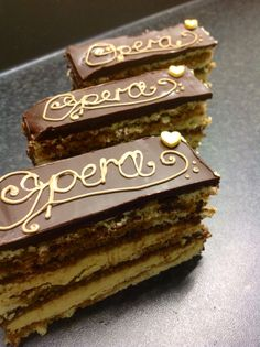 Masterchef opera cake