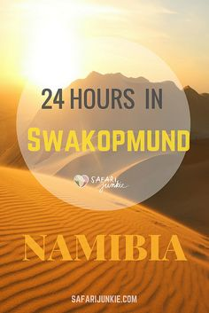 What to do in Swakopmund, Namibia in one day. Tips to spend 24 Hours in Swakopmund Namibia! Read ideas that will keep you busy in Swakopmund all day. Volunteer In Africa, Africa Destinations, Cold Treatment, Self Massage, Fitness Gifts, Self Driving, Beautiful Places In The World, Travel Planner, Safety Tips