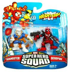 #Christmas Extra guidance Marvel Super Hero Squad Series 19 Taskmaster & Deadpool Action Figure 2-Pack for Christmas Gifts Idea Promotions . In relation to obtaining just the right  Christmas Toys for ones children, it assists to know what exactly different types and models involving Christmas Toys tend to be producing the largest visits w...
