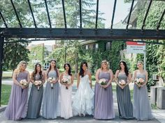 Angela`s review: I just wanted to submit some photos from my wedding in Toronto on June 12th 2016. I ordered FHFH dresses for my bridesmaids in December (all except the maid of honor dress). They arrived SOO fast and all my girls were thrilled with the dresses! Many of them were custom and fit each girl perfectly. One of my bridesmaids was also 3 months pregnant when the dresses were ordered, but we were so pleasantly surprised that the maternity dress that was made for her fit perfectly