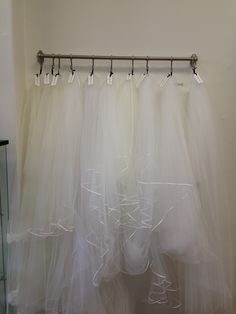 Wedding veil display at Vintage Tulle www.vintagetulle.com.au