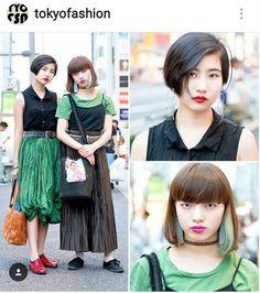 Harajuku Fashion Style.