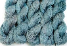 Organic 100% bamboo yarn Grace hand dyed vegan yarn by Klarabela