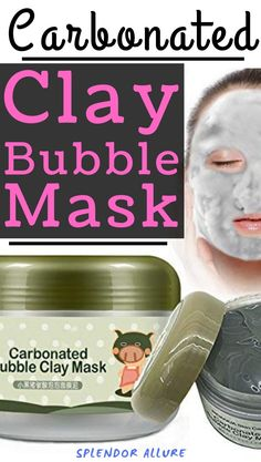 The most popular Carbonated Clay Bubble Mask is especially used for moisturizing, shrinking pores, and to brighten, repa Makeup Geek, Makeup Remover, Makeup Tools, Makeup Ideas, Beauty Makeup, Diy Skin Care, Skin Care Tips, Organic Skin Care, Natural Skin Care
