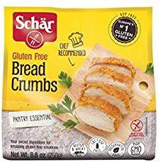 Schar Bread Crumbs Gluten Free - Case of 12 - oz. Embutido Recipe, Baked Mussels, Spanish Bread, Wheat Free Bread, Making Fried Chicken, Baked Chicken, Gluten Free Bread Crumbs, 6 Pack, Gourmet