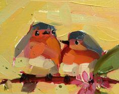 Robin Nº 6 de Baby Art Print por Angela Moulton 5 por prattcreekart