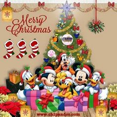 Christmas - Disney - Mickey & Minnie Mouse & Friends (Disney Christmas Art)