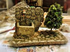 pozo Gnome House, Holy Night, Small World, Firewood, Holi, Iglesias, Ponds, Wells, Crafts