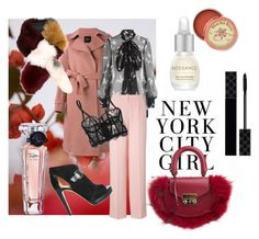 Sans titre #81 by miachic on Polyvore featuring polyvore, fashion, style, Alexander McQueen, Theory, DKNY, I.D. SARRIERI, MICHAEL Michael Kors, SALAR, Marni, Gucci, Lancôme, Anthropologie, GUINEVERE and clothing