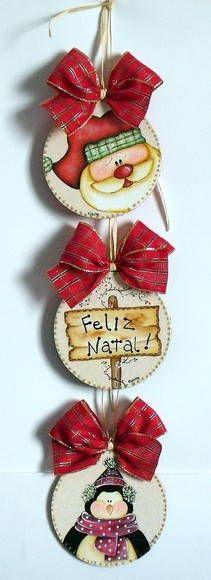 Enfeite de Natal Reciclado | NaniCountry | 198575 - Elo7