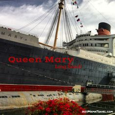 The Queen Mary is a wonderful site in long beach