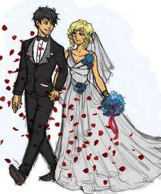 Percabeth! Wedding day! :-D