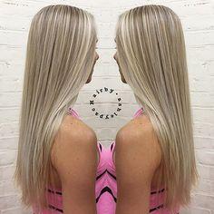 BABYLIGHTS #hairbyashleypac #hair#haircolor#blonde#blondehair#babylights#highlight#highlights#longhair#pretty#prettyhair#gorgeous#girl#hot#btcpics#behindthechair#modernsalon#imallaboutdahair#platinumblonde#platinum#salon#hairdresser#foils @behindthechair_com @imallaboutdahair @stylistshopconnect @modernsalon