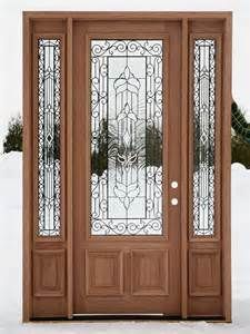 Masonite steel two panel door with monaco glass and for Masonite belleville door price