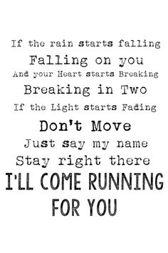 Running for You - Kip Moore. I have become obsessed with this song, idk why I just love it <3 <3 <3