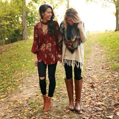 Fall fashion is our favorite thing, and the fun doesn't stop! Shop these looks now via the link in our bio! ☺️ #ShopImpressions #style #fallfashion #obsessed