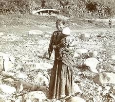 Coolie woman and child. Jamaica