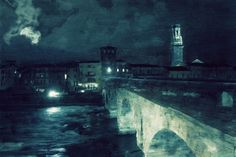 Verona, Ponte Pietra paint style by Vittorio Chiampan All Friends, Natural Lifestyle, Fine Art Photo, Explore, Nature, Artist, Photography, Painting, Detail