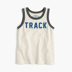 J.Crew+-+Boys'+track+tank+top