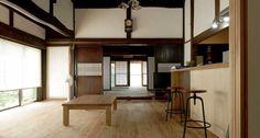 高瀬の家 « 合板を使わない、本物の自然素材の家 森びとの会 Table, Furniture, Home Decor, Decoration Home, Room Decor, Tables, Home Furnishings, Home Interior Design, Desk