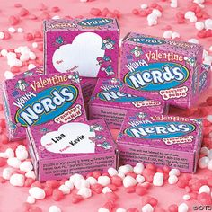 Nerds candy for Nerds on Valentines day