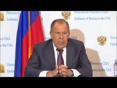 Lavrov's Press Conference After Meeting With Trump