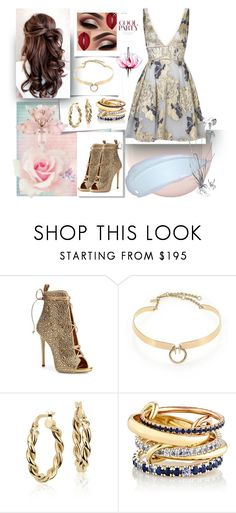 """""""The Simplicity"""" by signora-della-notte ❤ liked on Polyvore featuring Post-It, Giuseppe Zanotti, Alexis Bittar, Blue Nile, SPINELLI KILCOLLIN, Lancôme and Notte by Marchesa"""