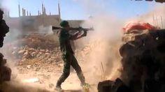 Syrian Arab Army clashes with ISIS fighters near Deir ez-Zor