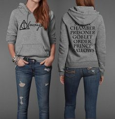 Always Harry Potter Book Movie Title Inspired Unisex Pullover Hoodie by parenholly $34.99 I need this!