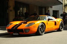 I saw this Ford GT Mirage in north London today!