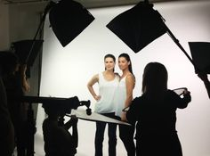 Behind the scenes of Volante Skincare Photoshoot