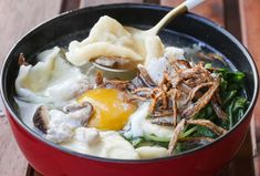 Recipe - Mee Hoon Kueh - Miss Tam Chiak Diet Recipes, Vegetarian Recipes, Cooking Recipes, Noddle Recipes, Food Dishes, Main Dishes, Singapore Food, Asian Recipes, Ethnic Recipes