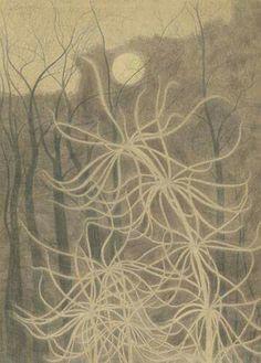 'De bospaardenstaart' (1917) by Léon Spilliaert