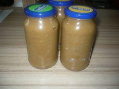 Rebarborová marmeláda Mason Jars, Mason Jar, Glass Jars, Jars
