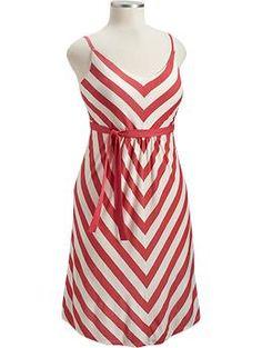 chevron dress - plus size