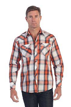 Gioberti Mens Casual Western Plaid Long Sleeve Shirt, Ora... https://www.amazon.com/dp/B01M338L8G/ref=cm_sw_r_pi_dp_x_dMoBybE898QR2