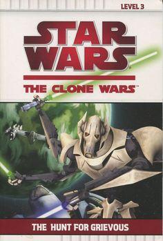 Star Wars Clone Wars Reader Lvl3 ● THE HUNT FOR GRIEVOUS ● (P/bk, 2010)
