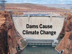Glen Canyon Dam in Arizona.