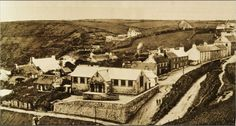 A very early photo of Upper Solva, possibly as early as the 1840's, a few years after the invention of photography. http://www.bl.uk/learning/timeline/item106980.html