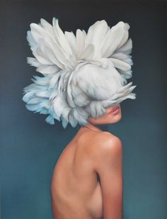 Amy Judd - Hooded Priestess - Hicks Gallery