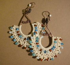 Crochet Earrings - CROCHET