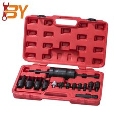 As one of the leading 14 pc injector puller remover tool manufacturers and suppliers in China, we warmly welcome you to buy or wholesale 14 pc injector puller remover tool in stock here and get quotation from our factory. All customized products made in China are with high quality and competitive price. Slide Hammer, Car Tools, Safe Storage, China, Quotation, Products, Quote, Porcelain, Gadget