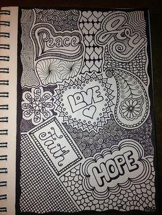 Inspirational Doodle  / Words of Encouragement