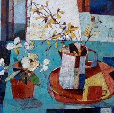 sally anne fitter - recent paintings