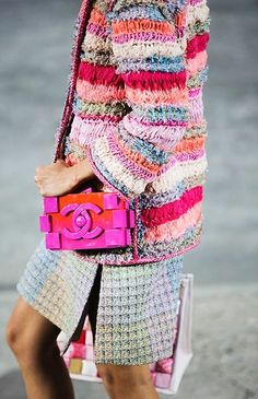 Endless colors from Chanel.