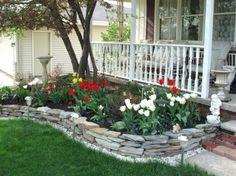 My Easy frontyard landscaping