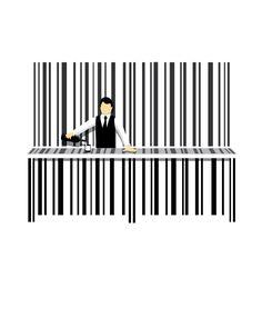 Bar Code . Nathan W Pyle